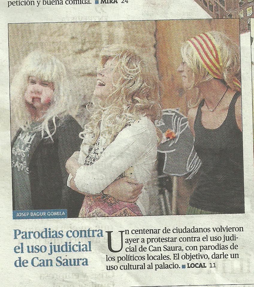 PARODIES CONTRA USO JUDICIAL CAN SAURA